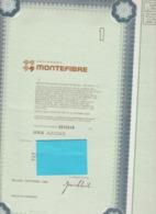 Azione Montefibre 1986 - Actions & Titres