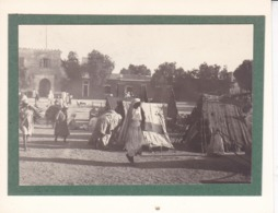 TOZEUR Tunisie Place CANOVA GANOVA Septembre 1923 Photo Amateur Format Environ 5 X 3,5 Cm - Lieux
