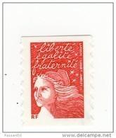 """Luquet TVP Rouge """" RF """" De Carnet Type II YT 3419 Sans Phosphore . Rare , Voir Scan . Maury N° 3398 IIb : 18 € . - Variétés Et Curiosités"""