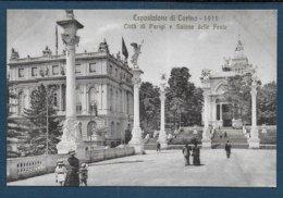 Esposizione Di Torino 1911 - Citta Di Parigi E Salone Delle Feste - Expositions