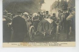 AUTOMOBILES - Course De La Coupe GORDON BENNETT , Au Taunus - SALZBOURG 17 Juin 1904 - Départ De BRAUN Sur MERCÉDÈS - Cartes Postales