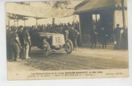 """AUTOMOBILES - Eliminatoire De La Coupe GORDON BENNETT , 20 Mai 1904 - Départ De BECONNAIS Sur """"DARRACQ """" - Cartes Postales"""
