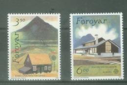 Føroyar 1990; Europa Cept, Michel 198-199.** (MNH) - Europa-CEPT