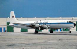1 AK Flugzeug Aerodrom Airport * MDC Douglas DC-7CF Of Aerochago Airlines At Miami International Florida 7/1991 * - Aerodrome