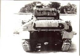 Lot De 2 Photographies à Thème Militaire TANK CHAR - Scans Recto-verso - Guerre, Militaire