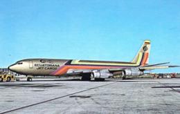 1 AK Flugzeug Airport Aerodrome * Boeing 707-321C Of EMPRESA ECUATORIANA D AVIACION Ecuador * - Aerodrome