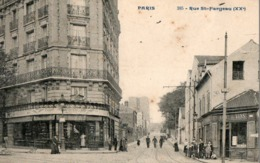 PARIS ( 75 ) - Rue Saint Fargeau ( XX ème ) - Arrondissement: 20