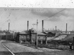 LODELINSART VUE GENERALE DES VERRERIES DE M. JONET - Charleroi