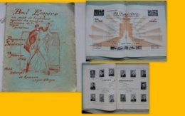 Bal Empire 1928, Orphelins RATP Hôtel De Lauzun, 32 Pages Très Illustrées, Gd Format ; L01 - Programmes