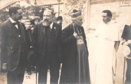 78 - Versailles - Carte Photo - Le Père Mutten - Les Officiers  & Les Officiels - Semaine Sociale Juillet-aout 1919 - Versailles