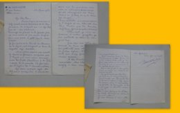 Robert De Kerchove, Lettre Autographe à Mgr Le Cordier 1963, Chorale Petits Chanteurs à La Télé, Orly ; PAP06 - 1950 à Nos Jours