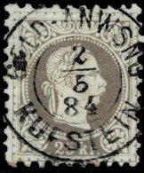 "1884, Nr. 40 II, Selt. "" KUFSTEIN "" Stp., #7188 - Oblitérés"