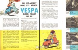 "REPORTAGE "" VESPA SUPER SPORT 180cc "" 1965 - Other"