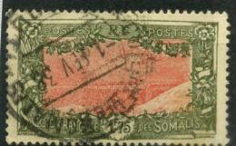 COTE DES SOMALIS      N° Y&T  135A - Oblitérés