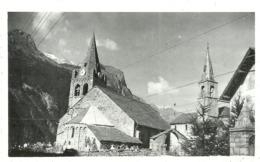 (LA GRAVE )( 38   ISERE  ) ( EGLISE ) 1947 - Places