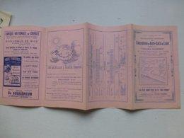 Voyages Duchemin, Nice 1921-22, Excursions En Autocars De Luxe, Dépliant PUB Ref649 ; PAP06 - Otros