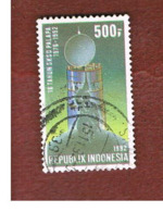"INDONESIA   - SG 2066  -  1992  COMMUNICATIONS: ""PALAPA"" SATELLITE  - USED ° - Indonesia"