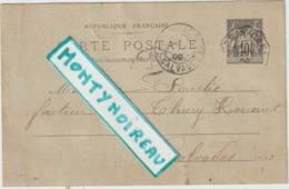Vieux  Papier  :   , Calvados   , Facteur  à   THURY  HARCOURT  , Genre  Carte  Postale - Vieux Papiers
