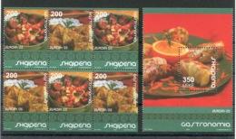 RC 13988 EUROPA 2005 ALBANIE LA GASTRONOMIE NEUF ** MNH - Europa-CEPT