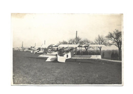 LAUSANNE BLECHERETTE 1917 BRUNER RAMP KILM COMTE SIMONIUS ACKERMANN ZIMMERMANN BIDER PILLICHODY .........SUISSE AVIATION - Flieger