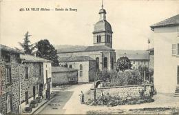 -dpt Div-ref-AM863- Rhône - La Ville - Entrée Du Bourg - Carte Bon Etat - - Other Municipalities