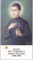 Beato Pio Campidelli (2) - Reliquia - Reliquie - Relic - Relique - B.7 - Devotieprenten