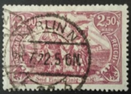 """1920  ,,Nord Und Süd""""Satz Mi. 115 C Infla-geprüft - Alemania"""
