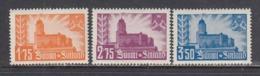 Finland 1941 - Burg Von Vilpuri Und Wappen Kareliens, Mi-Nr. 239/41, MNH** - Finland