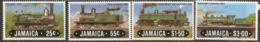 Jamaica  1984   SG 612-5  Railways    Unmounted Mint - Jamaica (1962-...)