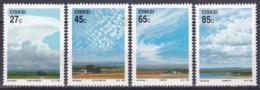 Ciskei Südafrika RSA 1992 Meteorologie Meteorology Wetter Weather Wolken Clouds Kumulus Zirrus, Mi. 211-4 ** - Ciskei