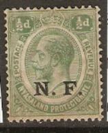 Tanganyika   1916  SG N!  Overprint NF  Mounted Mint - Kenya, Uganda & Tanganyika