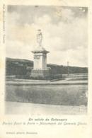 12852 - Catanzaro - Piazza Fuori Le Porte - Monumento Del Generale Stocco  R - Catanzaro