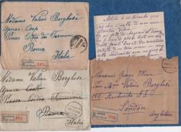 GRECE-1915/25- Lot De 10 Enveloppes Et 2 Cartes Timbrées Adressées à La Princesse BORGHESE- (2 Avec Correspondance) - Grecia