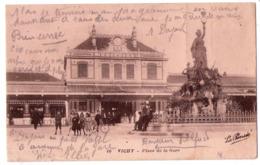 5617- Vichy ( 03 ) - Place De La Gare - N°40 - La Pensée - - Vichy