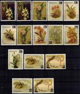 MBP-BK2-0023-3 MINT ¤ GUYANA 15w MINT OUT OF SET- MINT ¤ FLOWERS OF THE WORLD - ORCHIDEE - FLEURS BLÜMEN - Orchids