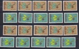 Europa Cept 1965 Iceland 2v (10x) ** Mnh (44842) - Europa-CEPT