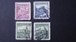 Czechoslovakia - 1932 - Mi:CS 311-3, Sn:CS 184-6, Yt:CS 274-6 O - Look Scan - Used Stamps