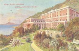 12844 - Castellamare Di Stabia - Royal Hotel Quisisana - (Napoli) R - Castellammare Di Stabia