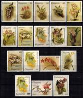 MBP-BK2-052-3 MINT ¤ GUYANA 17w MINT OUT OF SET- MINT ¤ FLOWERS OF THE WORLD - ORCHIDEE - FLEURS BLÜMEN - Orchids