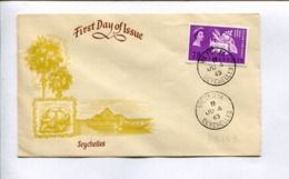 SEYCHELLES - 1963 SEYCHELLES FDC FIRST DAY OF ISSUE -LILHU - Seychellen (...-1976)
