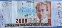 2000 Colones Costa Rica 2003 - Costa Rica