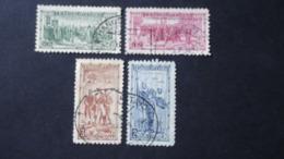 Czechoslovakia - 1934 - Mi:CS 322-5, Sn:CS 195-8, Yt:CS 285-8 O - Look Scan - Used Stamps