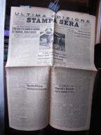 (G28) QUOTIDIANO, ULTIMA EDIZIONE STAMPA SERA 7/8 AGOSTO 1943 -TORINO N° 188  ANNO 77  N° 188- GOZZANO GUIDO - Riviste & Giornali