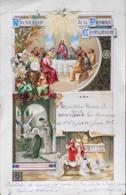 Chromo & Image Dorée > Grand Format - Souvenir De La 1ére Communion De Manolita PEREZ En 1926 à Madrid - En L'état - Devotion Images