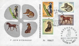 Luxembourg  -  FDC  15.5.1961   Protection Des Animaux - FDC