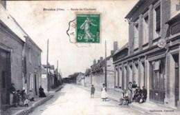 60 - Oise - BRESLES -  Route De Clermont ( Epicerie , Mercerie ) RARE - France