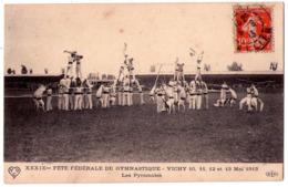 5620 - Vichy( 03 ) - XXXIXme Fête Fédérale De Gymnastique ( 10 Au 13 Mai 1913 ) - Les Pyramides -E.L.D. - - Vichy