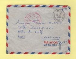 Maroc - Marrakech Gueliz - Base Ecole 707 - 28-3-1960 - Storia Postale