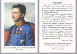Beato Carlo I D'Austria - Imperatore - Chiesa Di Sabbioneta - Mantova - B4 - Images Religieuses