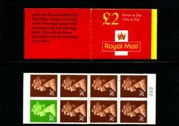 GREAT BRITAIN - 1998  £ 2  BOOKLET  NEW STYLE  20p/26p  (NO TABLE)  MINT NH  SG FW 9b - Booklets
